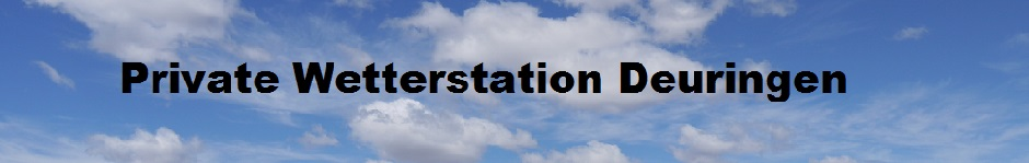 Private Wetterstation Deuringen